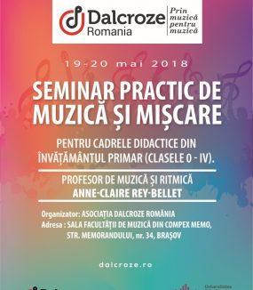 Seminar practic de muzică și mișcare pentru cadrele didactice din învățământul primar (clasele 0 – IV), Brașov
